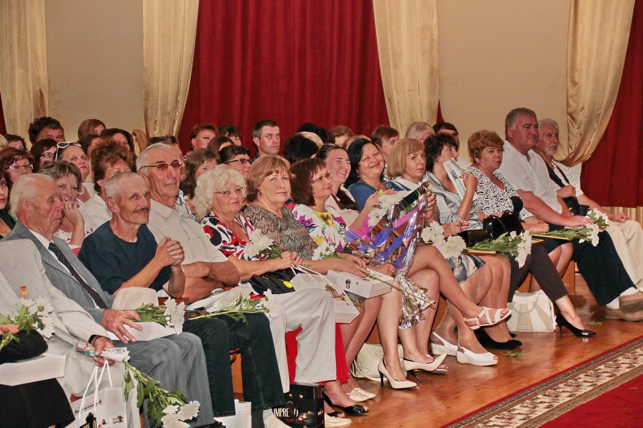 Поздравление на августовском совещании учителей 74