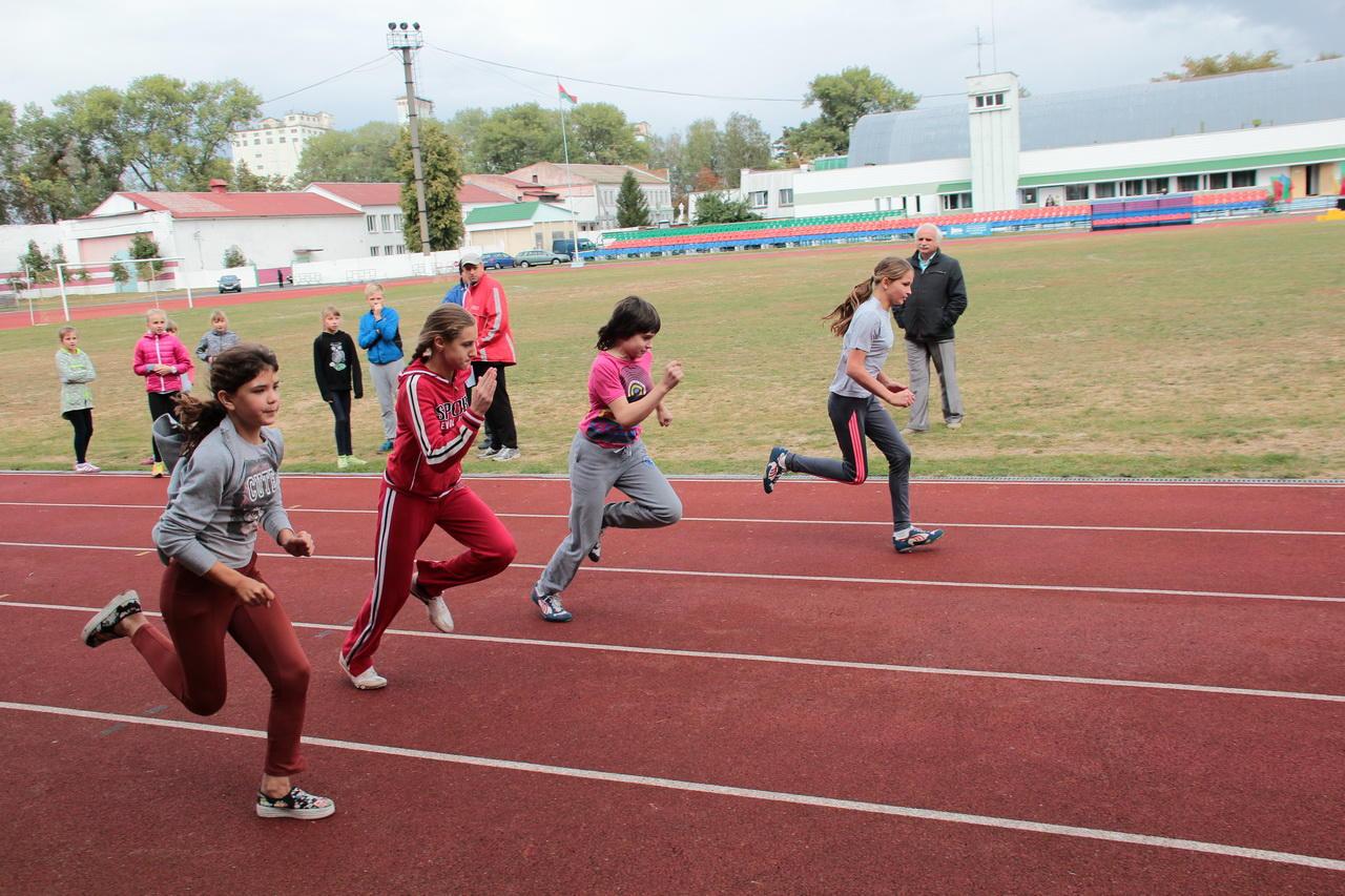 Дети и легкая атлетика фото