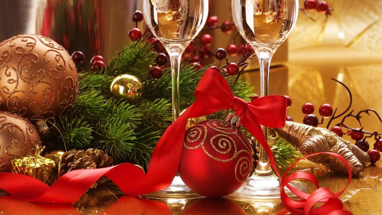 обои для стола с новогодней темой № 634969 без смс