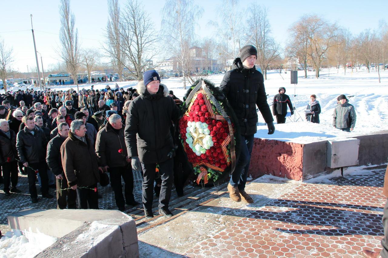 Сценарий митинга у памятника погибшим в о в