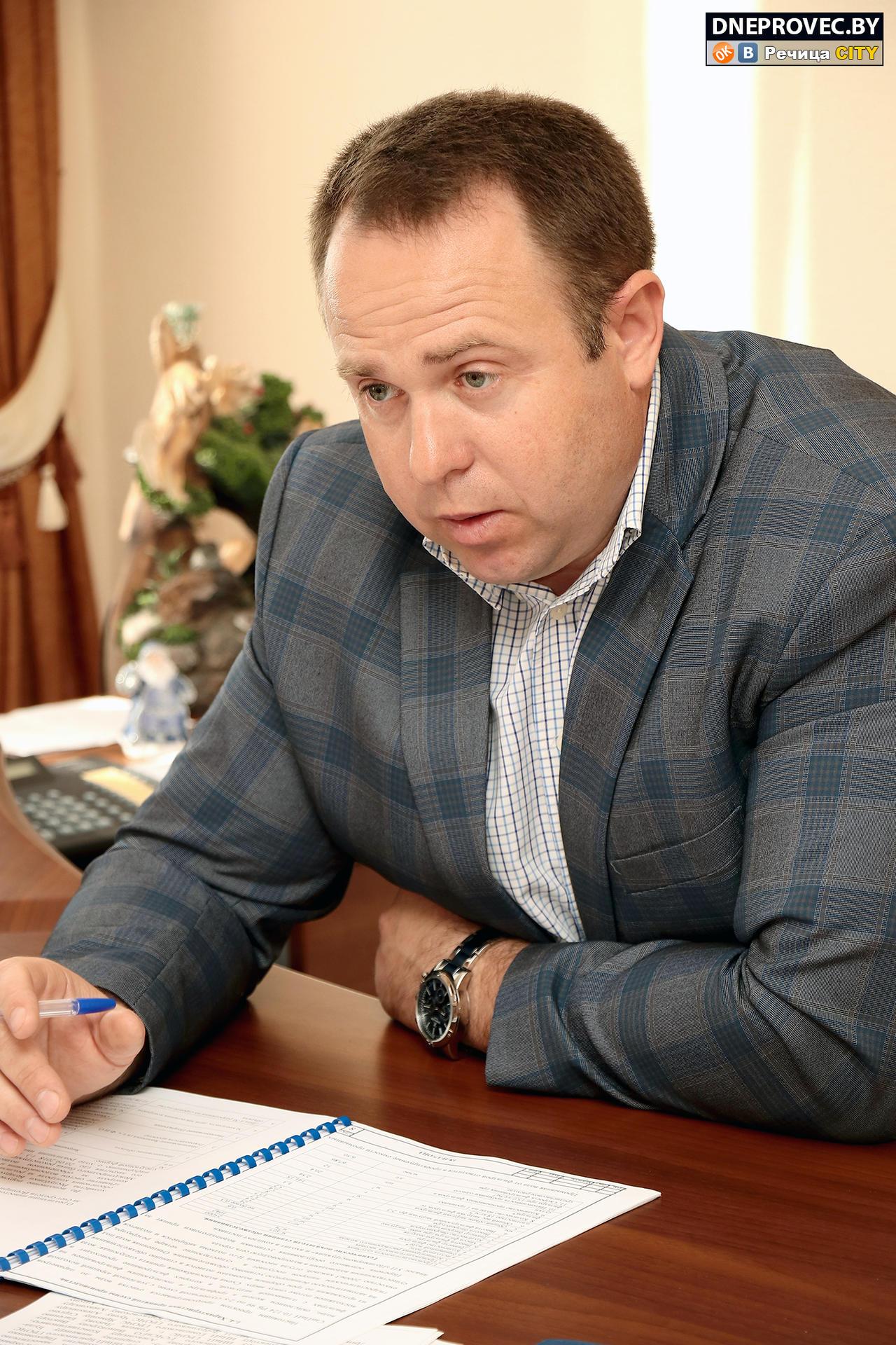 Главный инженер водоканала Сергей ЮРЧЕНКО